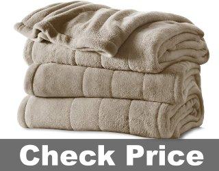 Sunbeam Heated Blanket | Mushroom - BSM9KQS-R772-16A00
