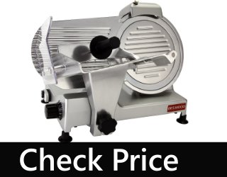 """BESWOOD 10"""" Premium Electric Deli Meat Cheese Food Slicer"""