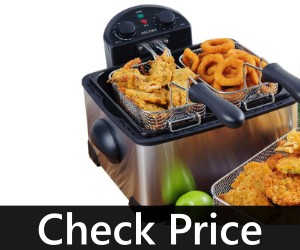 Secura 1700-Watt Stainless-Steel Deep Fryer