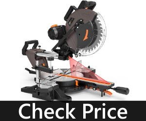 TACKLIFE 12-Inch Double Sliding Miter Saw